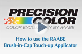How to use the Raabe 2 in 1 Pen Brush Combo