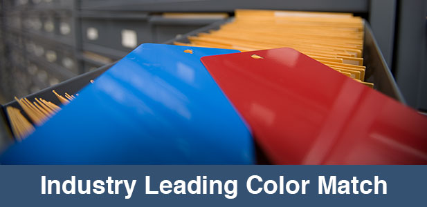 industry leading color match
